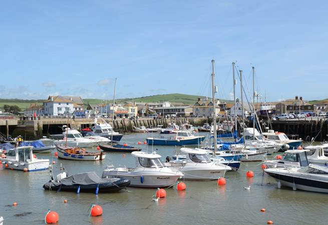 Visit West Bay for fish and chips on the coast, it also has a quirky vintage centre to browse.