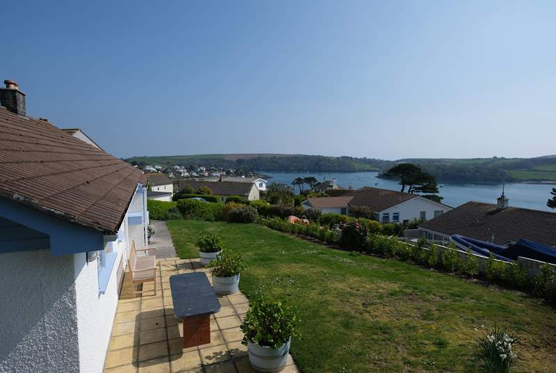 Looking over St.Mawes harbour towards Place Manor.