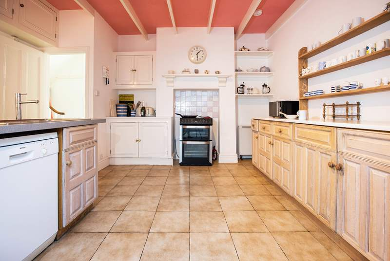 Cook up a holiday feast in this well equipped kitchen.