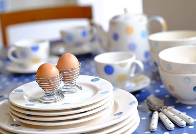 Eggs and soldiers for breakfast?