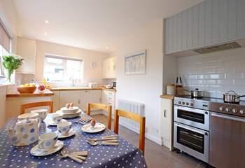 The kitchen/breakfast-room.