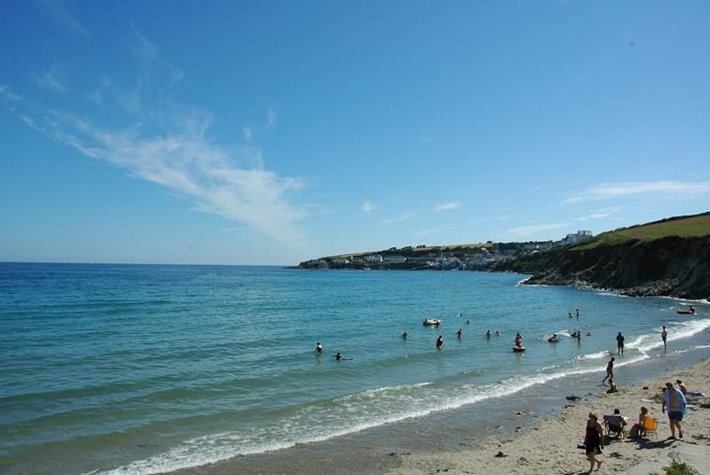 Porthcurnick Beach.
