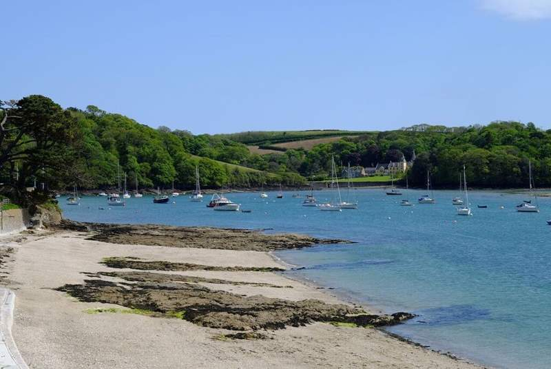 Summers Beach in St Mawes.