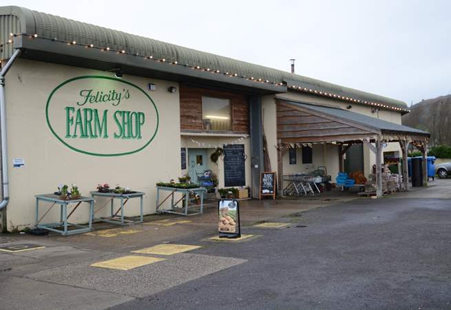 The award-winning Felicity's Farm Shop in the village has a mouth-watering array of local produce and a cafe which can be hard to resist.