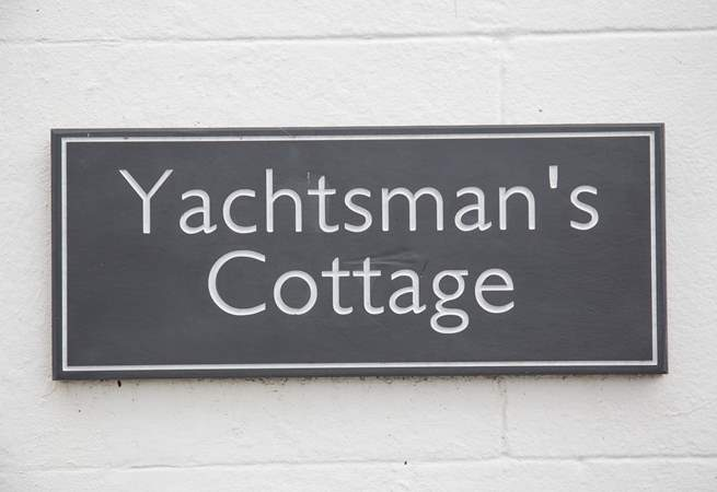 Yachtsman's Cottage is a stone's throw from the waterside and children's play area.