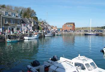 The harbour town of Padstow is a great place to visit for shopping, historic houses, sightseeing, oh and of course terrific food!