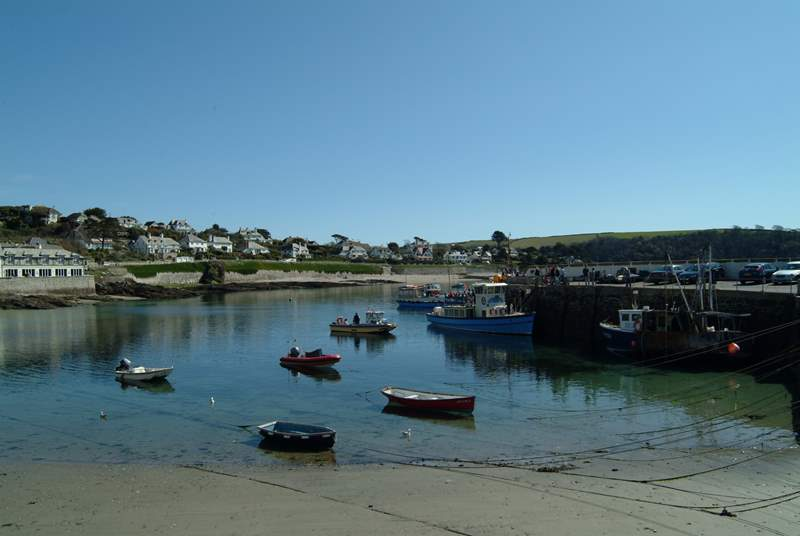 St. Mawes Harbour.