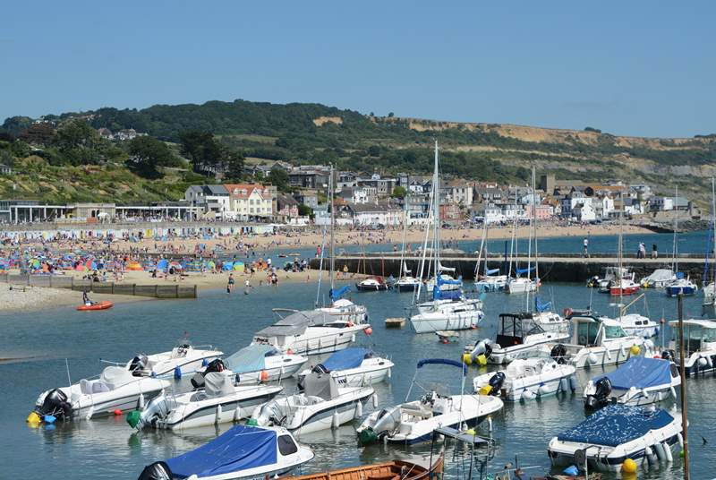 Lyme Regis is such an easy drive from The Coach House