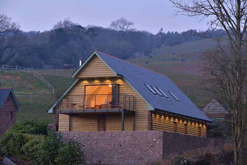 This beautiful lodge is a haven of luxury right on the edge of the Quantock Hills Area of Outstanding Natural Beauty.