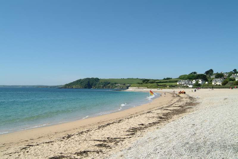 The beach at Gyllyngvase (the next along from Swanpool) offers watersport tuition in the summer.