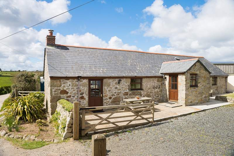 Cowhouse Cottage is a lovely old stone barn conversion.