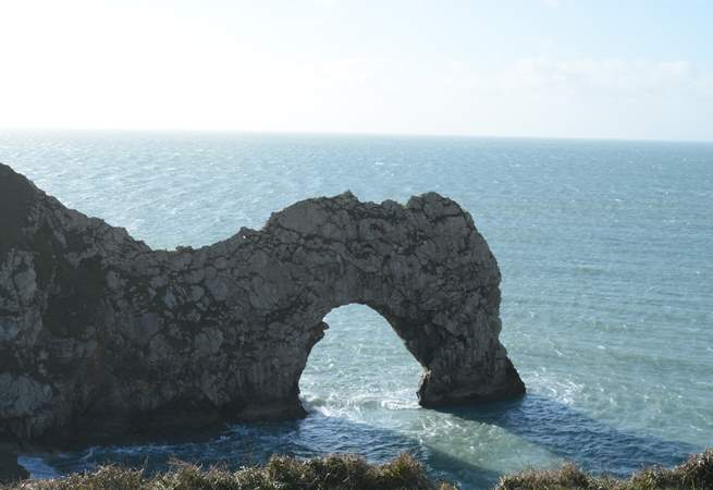 Further along the Jurassic Coast Durdle Door is a 'must have' holiday shot.