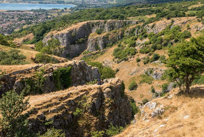 Cheddar Gorge boasts spectacular views.