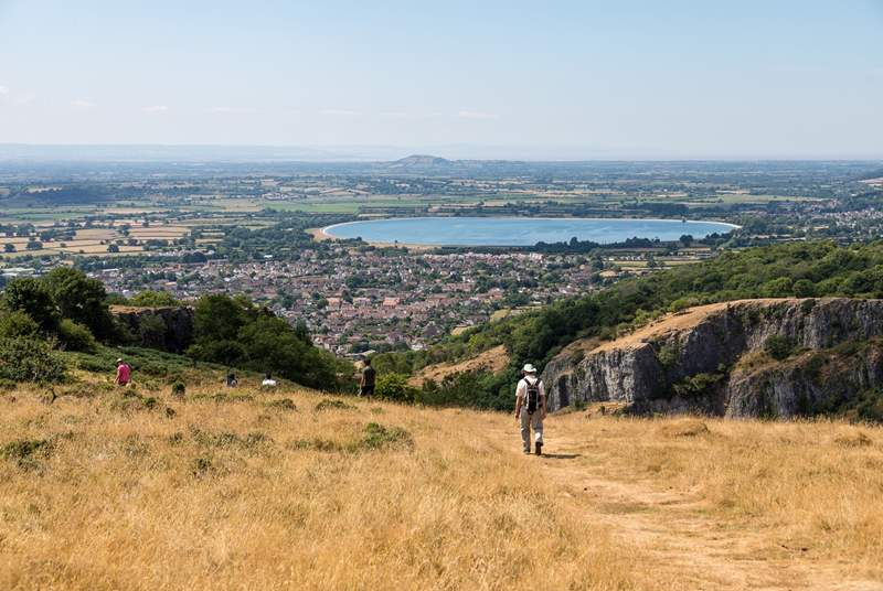 Wow! Just look at that view! Cheddar Gorge is a must.
