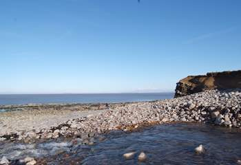The nearest beach to Plainsfield is Somerset's own Jurassic Coast - with incredible rock formations.