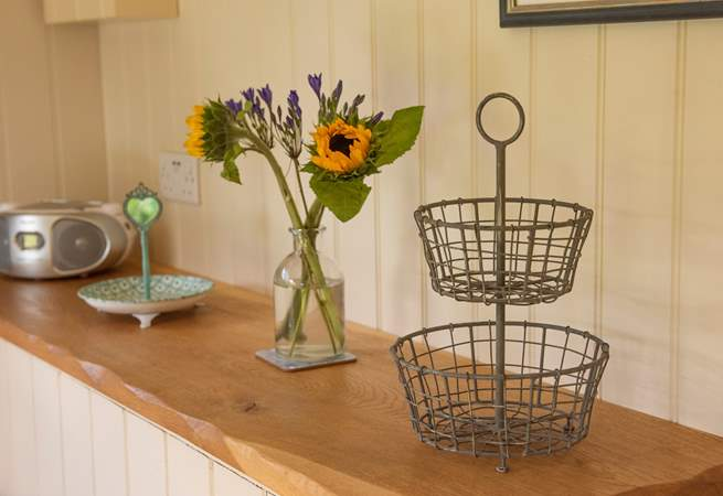 There are lots of lovely features throughout the hut.