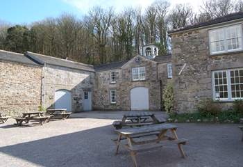One of the old stables belonging to the estate is now a cafe, perfect for a stop for some light refreshments.
