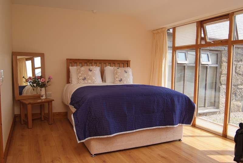 The lovely spacious en suite bedroom.