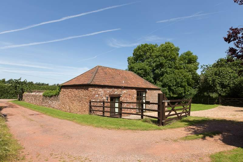 Orchard Barn is a detached barn conversion in the fringes of the Quantock Hills.