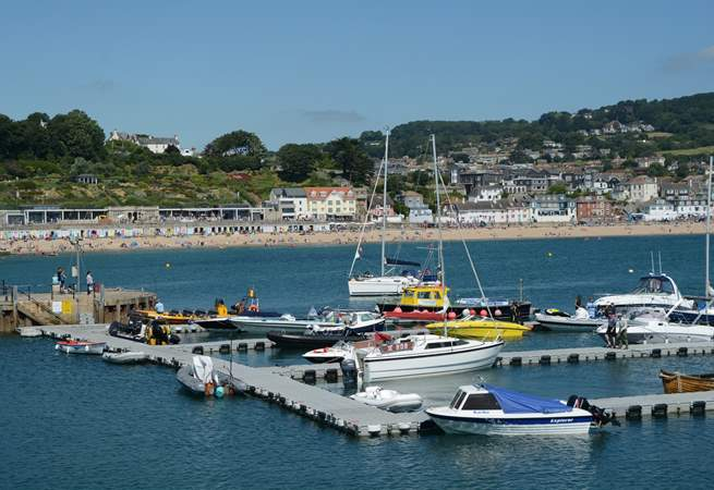 Lyme Regis has it all, the iconic Cobb, fossils, sand, great cafes. restaurants, pubs and ice cream.