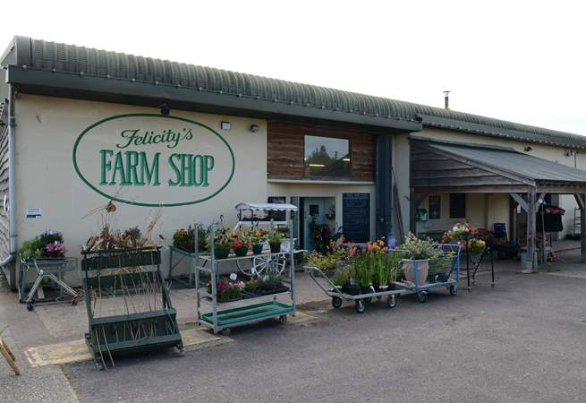 Felicity's award-winning farm shop is just over the border into Dorset and has some delicious produce for the barbecue.