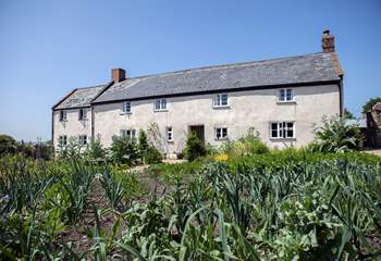 River Cottage HQ is a walkable distance across the fields.