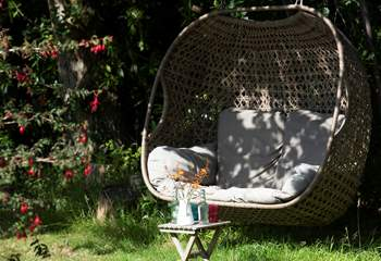 What a lovely place to sit and read a good book.