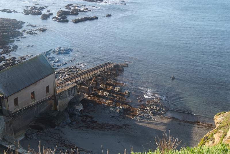 The old lifeboat station.
