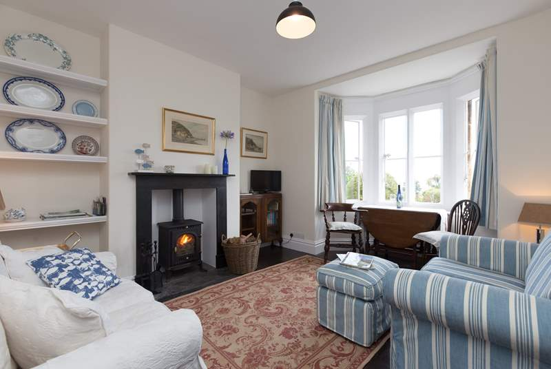 The whole cottage has been renovated and has many of its original period features at the same time as being very comfortably furnished and well-equipped for holiday guests.