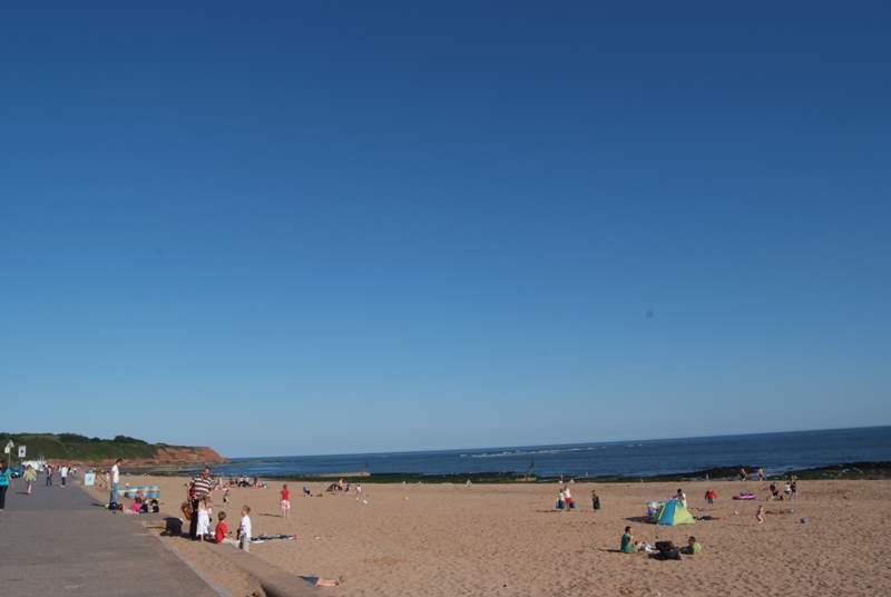 If you fancy a dose of fresh air, Exmouth Beach is around an hour away, with its miles of golden sands and spine of lush rolling countryside.