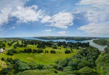 Located on the banks of the Helford River, there is much to explore.