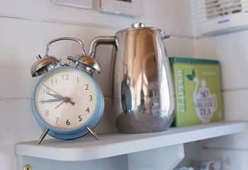 There are lovely touches throughout this very special beach chalet.