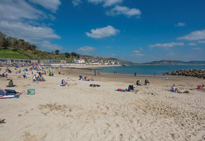 Fancy a beach day, this sandy beach is in the direction of the town.