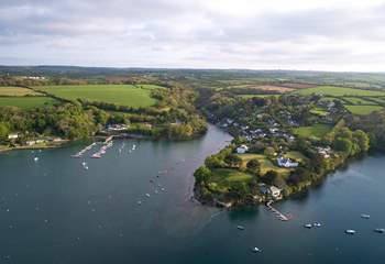 Enjoy exploring the banks of The Helford.