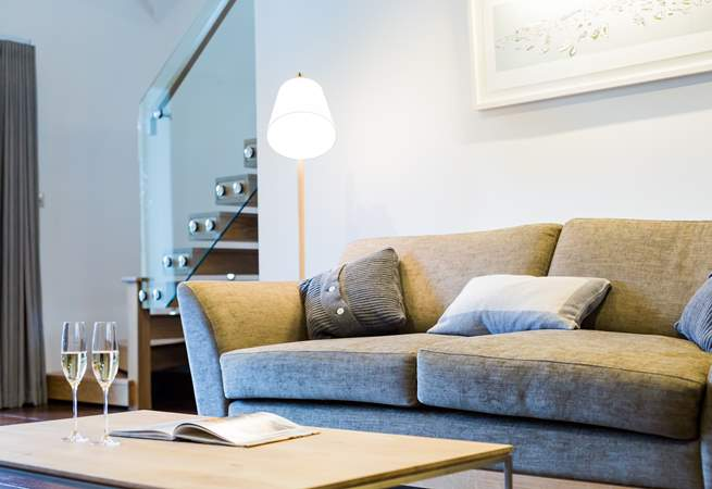 Comfy sofas to relax on after a around of golf or a busy day out exploring.