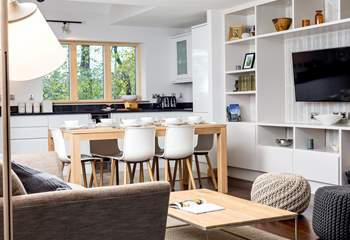 Open plan living at its best.