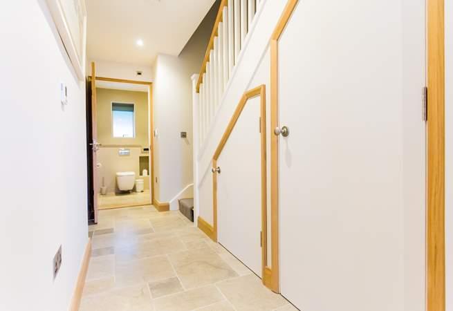 The ground floor hallway.
