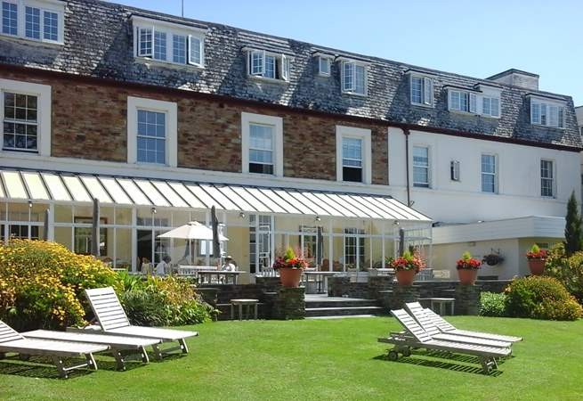 The grounds and facilities of this lovely country hotel are yours to explore and enjoy.