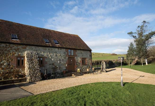 Welcome to 1 Bagwich Barn - one of two properties in a beautifully converted barn.