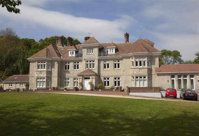 The exterior of the Manor House.