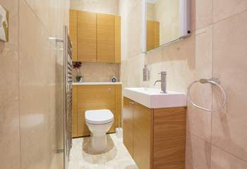 The downstairs cloakroom.