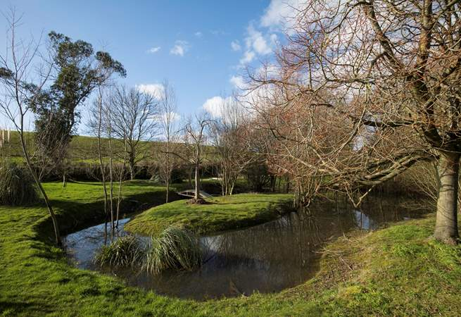 Bagwich Barn is in a private complex in the countryside, the gardens within have been beautifully landscaped.
