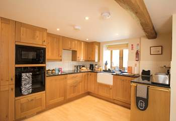 The fully equipped kitchen is likely to have everything you will need.