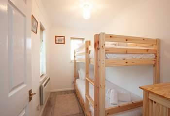 The bunkroom is ideal for chidlren.