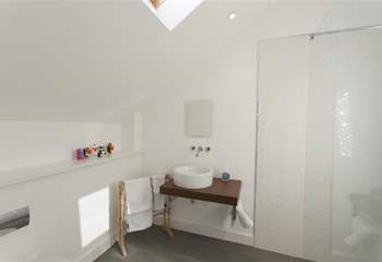 Luxury en suite shower-room.