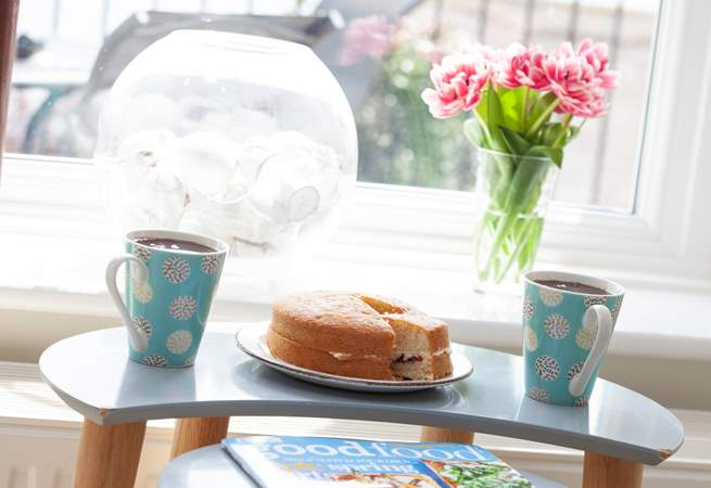 Time for tea and cake?