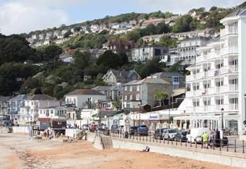 Enjoy the seaside town of Ventnor.