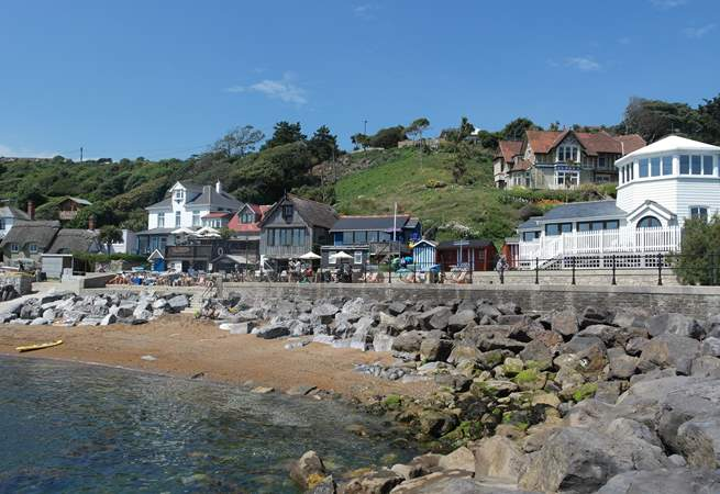 Spent the afternoon exploring Steephill Cove.