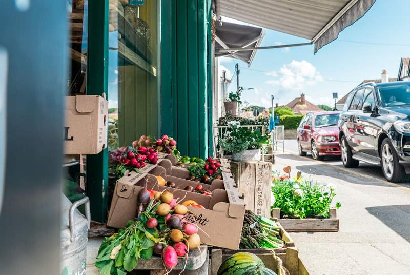 Bembridge village has local produce, cafes, and local shops on offer.
