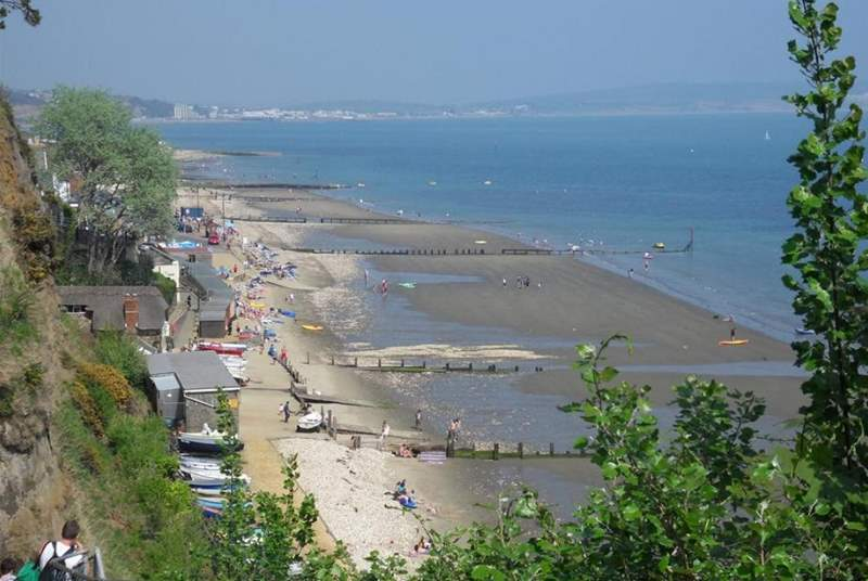 Shanklin seafront.